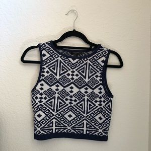 NWT sweater crop top